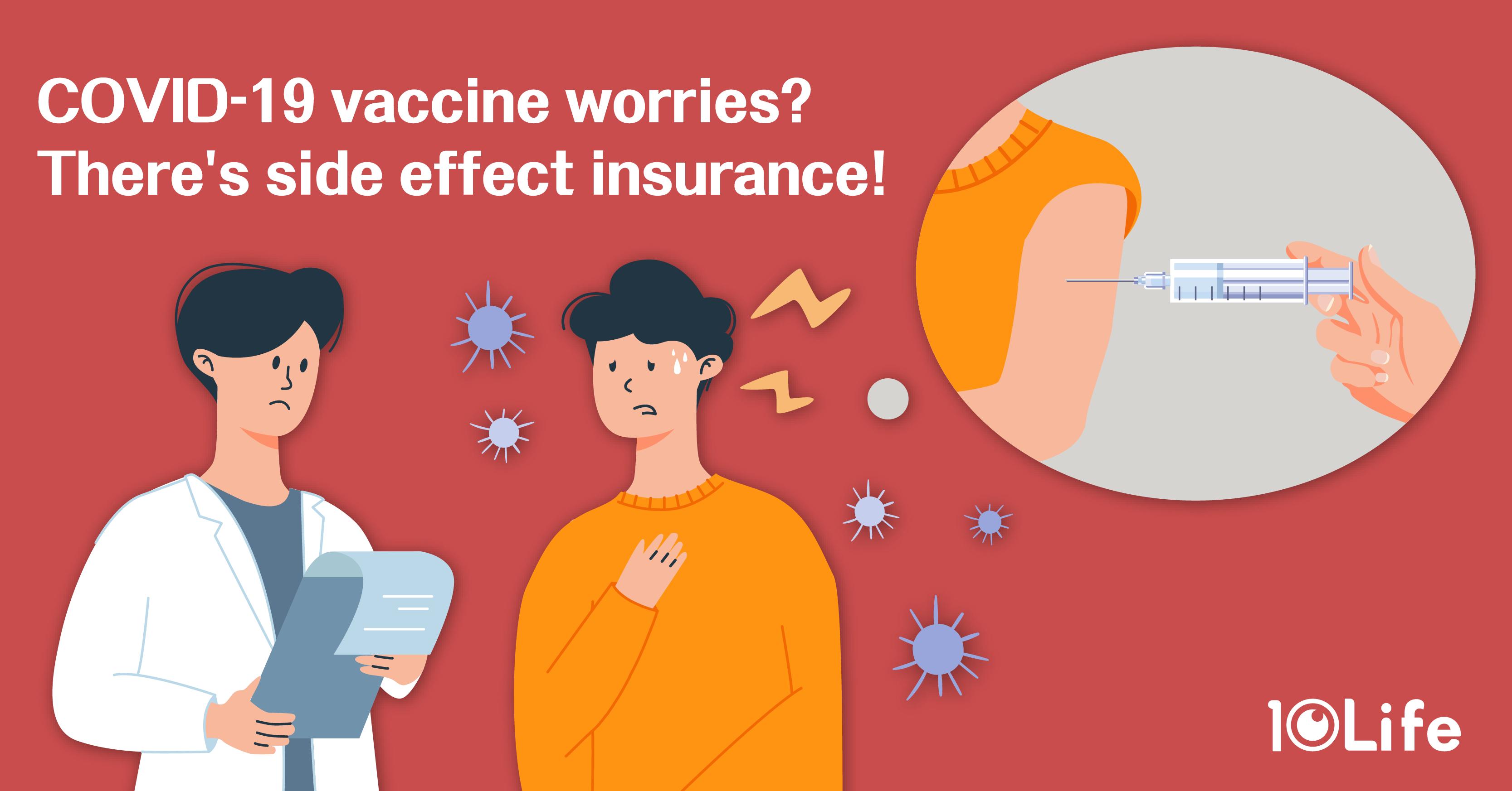 {COVID-19} Comparing Free Covid-19 Vaccine Side-effect Insurance
